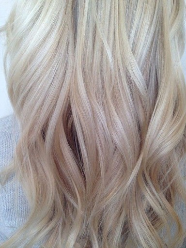 Ванильный блонд фото