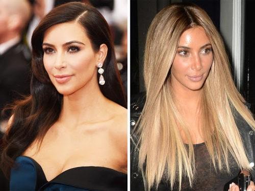 Как черные волосы перекрасить в светлые