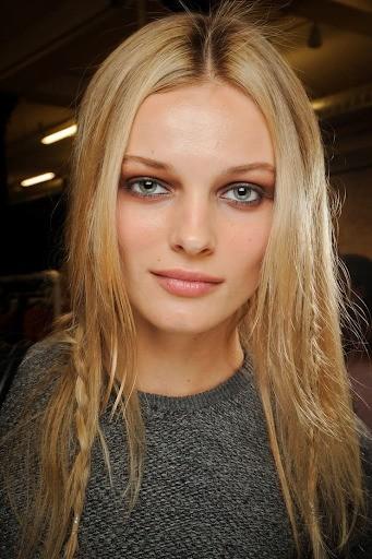 Льняной блонд фото