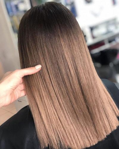 Можно ли выполнить окрашивание темных волос без осветления