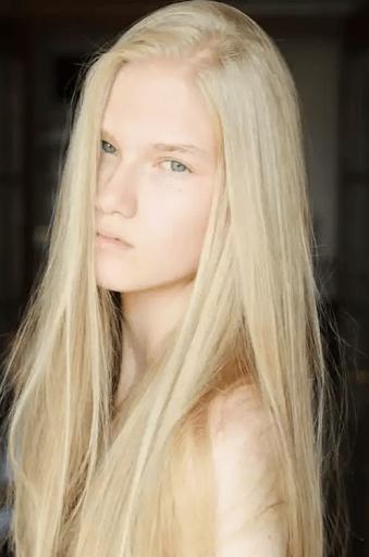 Скандинавский блонд фото