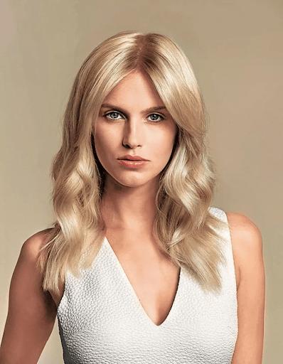 Сливочный блонд фото