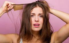 Грязные волосы